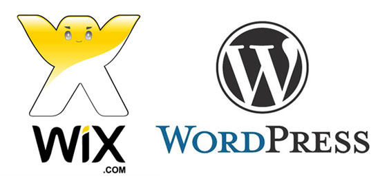 Comparatif Wix Worpress et Google Sites