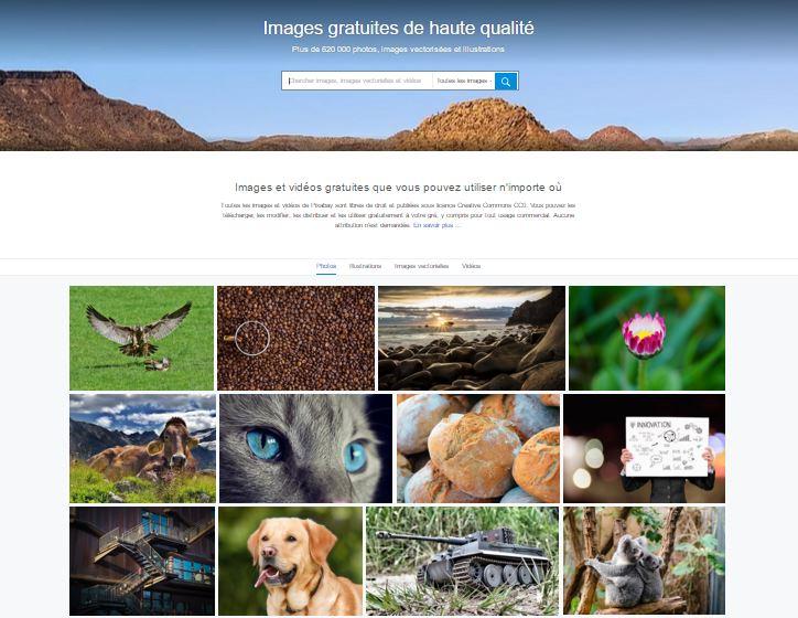 Banque d'images Pixabay