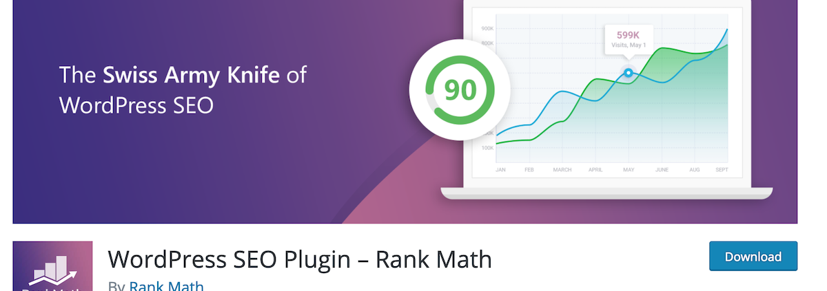 Plugin WordPress SEO Rank Math