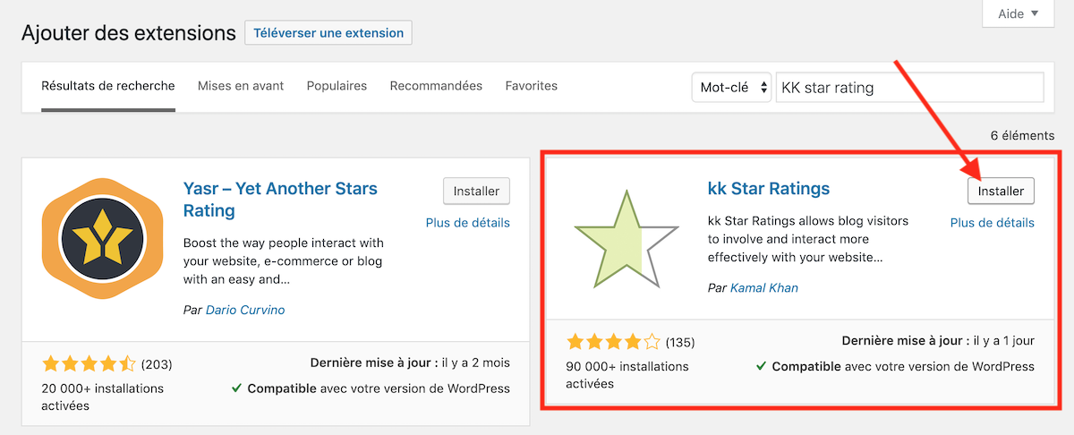 plugin kk star ratings
