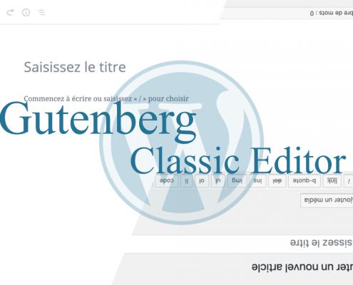 Gutenberg éditeur wordpress
