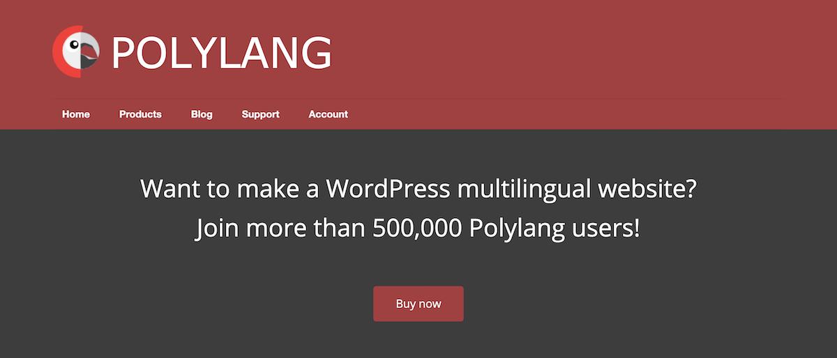 Polylang plugin multilingue