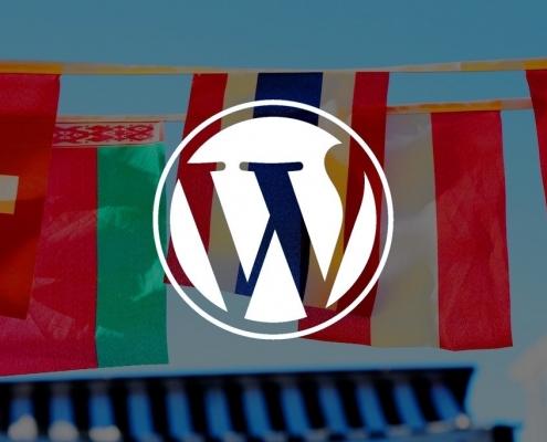 WordPress plateforme multilingue