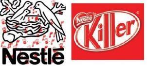 Faux logos Nestlé
