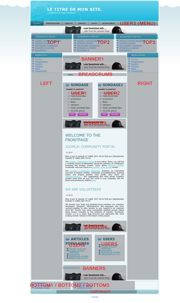 Zenblog : un template gratuit pour les bloggers Joomla